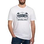 Yosemite Slate Blue Fitted T-Shirt