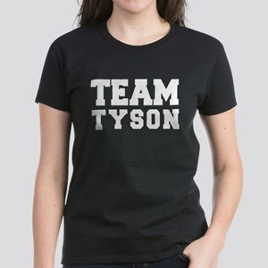 TEAM TYSON Women's Dark T-Shirt