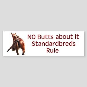 Standardbreds Rule Bumper Sticker