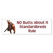 Standardbreds Rule Bumper Sticker