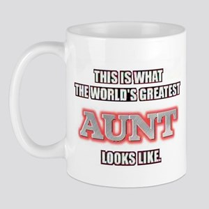 World's Greatest Aunt... Mug