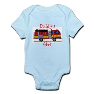 8d49b0629 Daddy s Girl Fireman Infant Bodysuit
