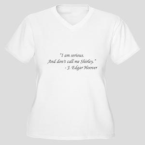 Airplane - J Edgar Hoover Women's Plus Size V-Neck