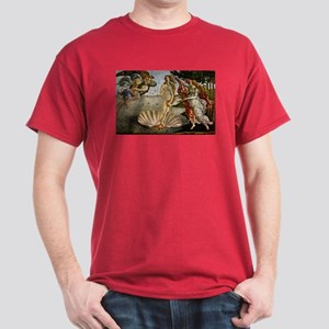 Botticelli T-Shirt in Cardinal Red