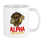 Alpha Come At Me Bro Mug