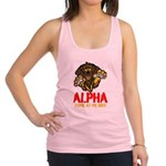 Alpha Come At Me Bro Racerback Tank Top