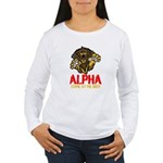 Alpha Come At Me Bro Women's Long Sleeve T-Shirt
