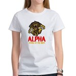Alpha Come At Me Bro Women's T-Shirt