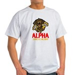 Alpha Come At Me Bro Light T-Shirt