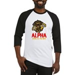 Alpha Come At Me Bro Baseball Jersey