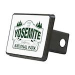 Yosemite Green Sign Rectangular Hitch Cover