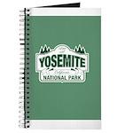 Yosemite Green Sign Journal