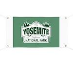 Yosemite Green Sign Banner