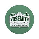 "Yosemite Green Sign 3.5"" Button"