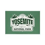 Yosemite Green Sign Rectangle Magnet (10 pack)