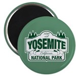 Yosemite Green Sign Magnet