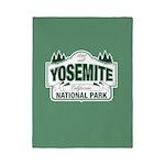 Yosemite Green Sign Twin Duvet