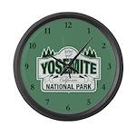 Yosemite Green Sign Large Wall Clock