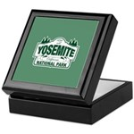 Yosemite Green Sign Keepsake Box