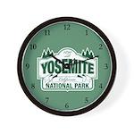 Yosemite Green Sign Wall Clock