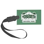 Yosemite Green Sign Large Luggage Tag