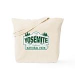 Yosemite Green Sign Tote Bag