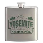 Yosemite Green Sign Flask
