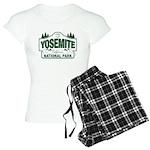 Yosemite Green Sign Women's Light Pajamas