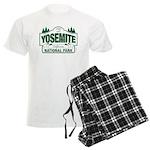 Yosemite Green Sign Men's Light Pajamas