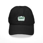 Yosemite Green Sign Black Cap