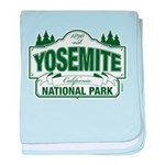 Yosemite Green Sign baby blanket