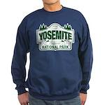 Yosemite Green Sign Sweatshirt (dark)