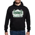 Yosemite Green Sign Hoodie (dark)