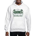 Yosemite Green Sign Hooded Sweatshirt