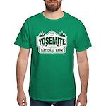 Yosemite Green Sign Dark T-Shirt
