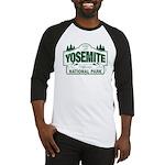 Yosemite Green Sign Baseball Jersey