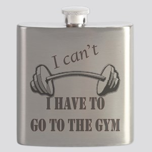 I cant, I have to go to the gym Flask