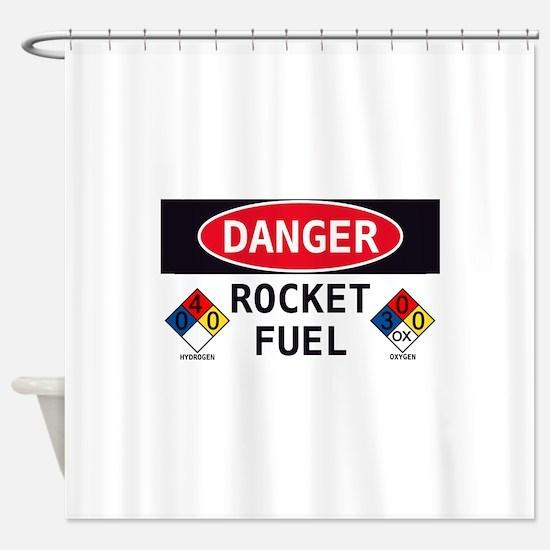 Rocket Fuel Shower Curtain