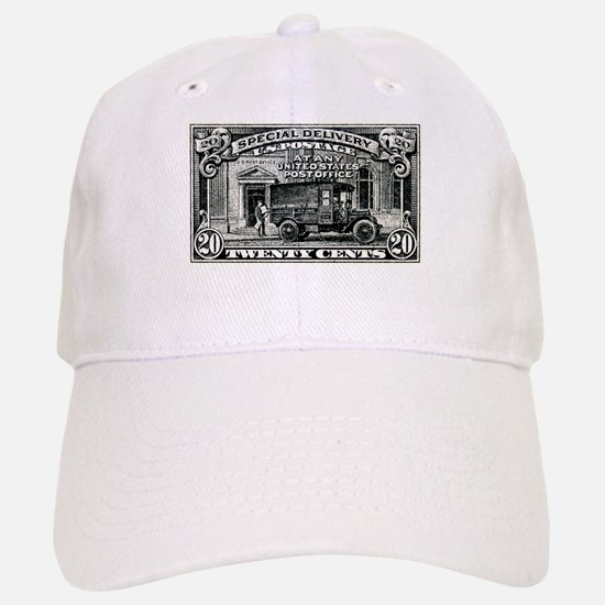 1925 United States Special Delivery Stamp Baseball Baseball Cap