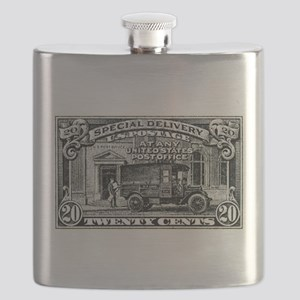 1925 United States Special Delivery Stamp Flask