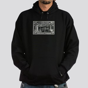1925 United States Special Delivery Stamp Hoodie (