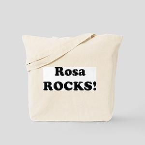Rosa Rocks! Tote Bag