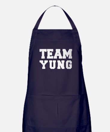TEAM YUNG Apron (dark)
