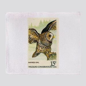1978 United States Barred Owl Postage Stamp Stadi
