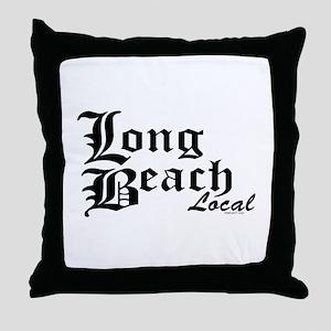 Long Beach Local Throw Pillow