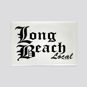 Long Beach Local Rectangle Magnet