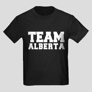 TEAM ALBERTA Kids Dark T-Shirt