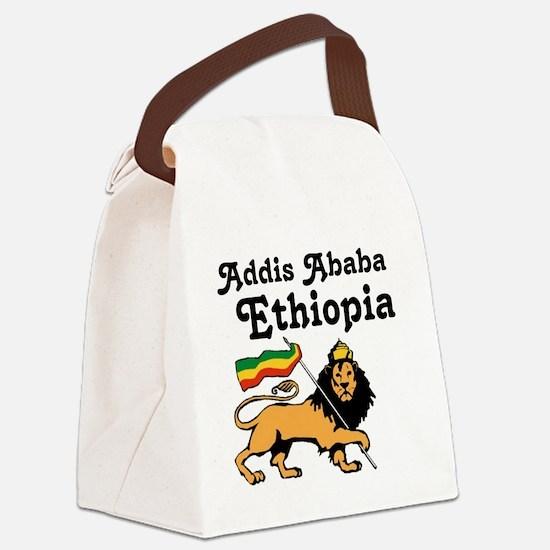 Addis Ababa, Ethiopia Canvas Lunch Bag