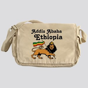 Addis Ababa, Ethiopia Messenger Bag