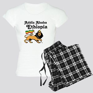 Addis Ababa, Ethiopia Women's Light Pajamas